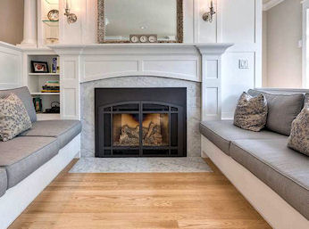 Slab Marble Fireplace Hearth 1 Remodels Additions From Manhattan
