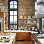 home remodel/ brick wall