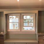 Custom banquette and cabinetry, Remodeling, fire restoration, building contractor, custom cabinetry, design, addition